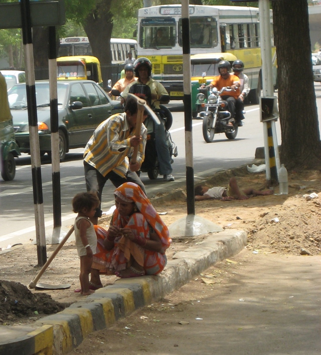 On the Street in Delhi 5_17